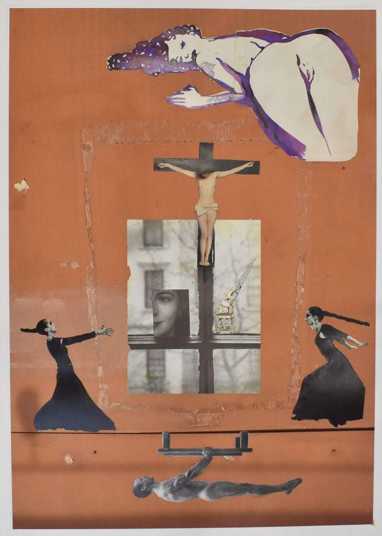 Ton Geurts Color Photograph - Holy Moly - photo collage, Dutch artist, paper, photography, contemporary