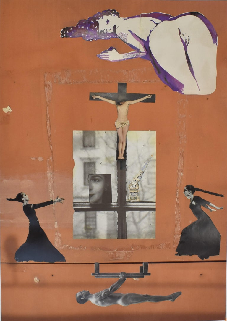 Holy Moly - photo collage, Dutch artist, paper, photography, contemporary - Photograph by Ton Geurts