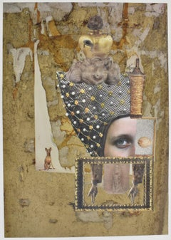 Florence - photo collage, Dutch artist, paper, photography, contemporary