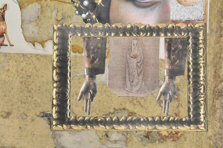 Florence - photo collage, Dutch artist, paper, photography, contemporary For Sale 1