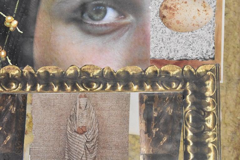 Florence - photo collage, Dutch artist, paper, photography, contemporary For Sale 5