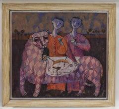The Big Picknick - contempary figurativ russian