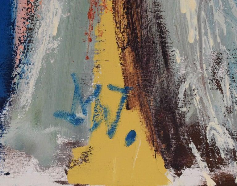 'Bedreigd volk', Threatened people, Martin van Wordragen, Oil paint on canvas For Sale 8