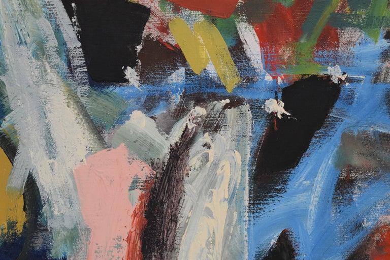 'Bedreigd volk', Threatened people, Martin van Wordragen, Oil paint on canvas For Sale 5
