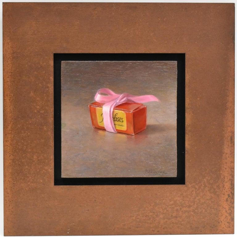 Box of chocolates - Peter van den Borne - Realist Painting by Peter van den Borne