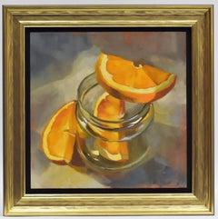 Ans Debije - Orange above - Modern - Dutch