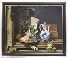 Still life with glass rummer - Classical Art Oil Canvas Painting