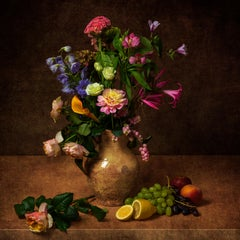 Photography Dibond Flowers Still Life Colour