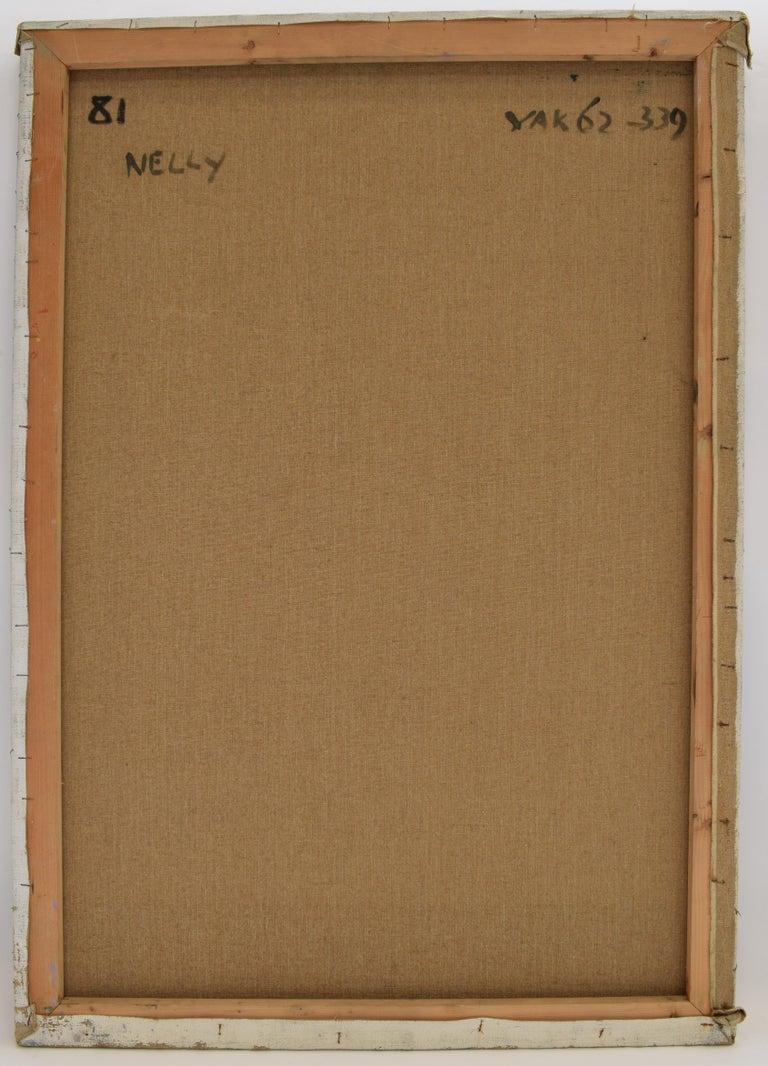 Nelly - Oil Paint on Canvas, Fauvist, Dutch Artist, Portrait, Painting For Sale 11