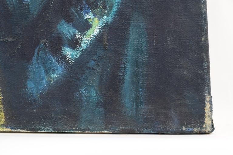 Nelly - Oil Paint on Canvas, Fauvist, Dutch Artist, Portrait, Painting For Sale 5