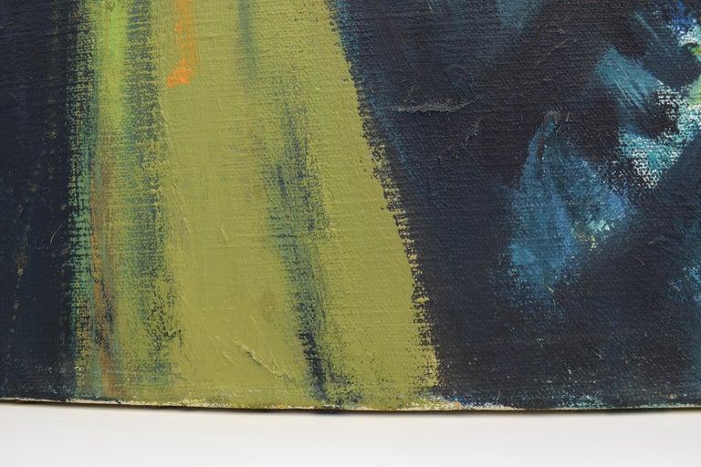 Nelly - Oil Paint on Canvas, Fauvist, Dutch Artist, Portrait, Painting For Sale 10