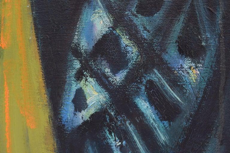 Nelly - Oil Paint on Canvas, Fauvist, Dutch Artist, Portrait, Painting For Sale 9