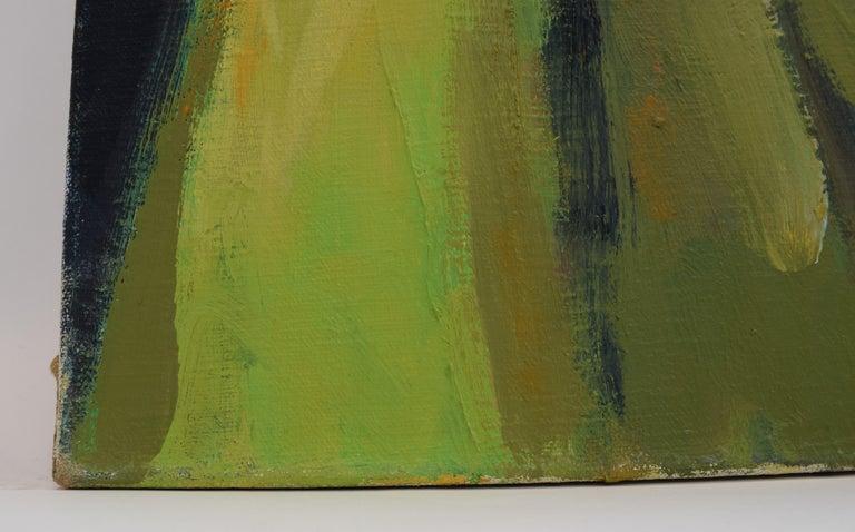 Nelly - Oil Paint on Canvas, Fauvist, Dutch Artist, Portrait, Painting For Sale 7