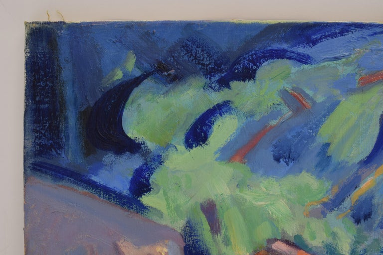 Freek van den Berg (Amsterdam 1918-Veessen 2000) was part of the Fauvist movement and was one of the last Dutch painters to work in this expressive and colorful way. His oeuvre covers a wide range of themes: cityscapes and landscapes, but especially