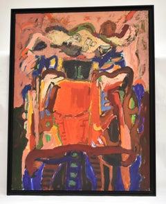 Tahiti I, Ad Snijders, series Gauguin, Oil paint on masonite, 1992, Dutch