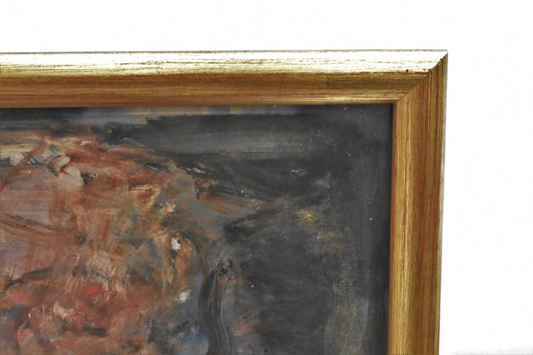 At the fireplace  - Hans von Bartels Mixed media 4