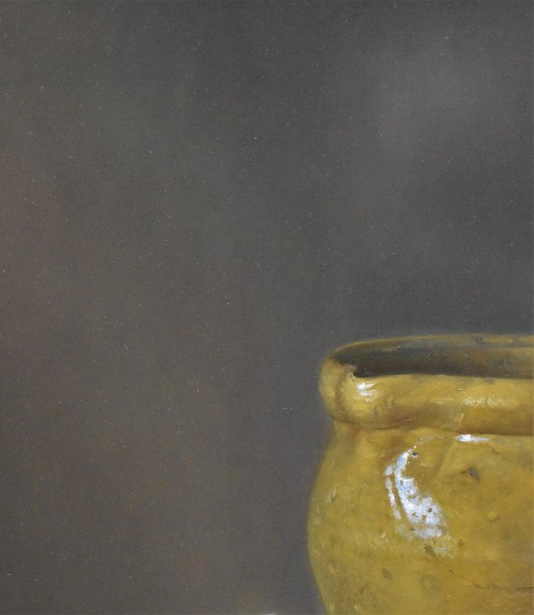 Yellow jug with egg - Peter van den Borne For Sale 3
