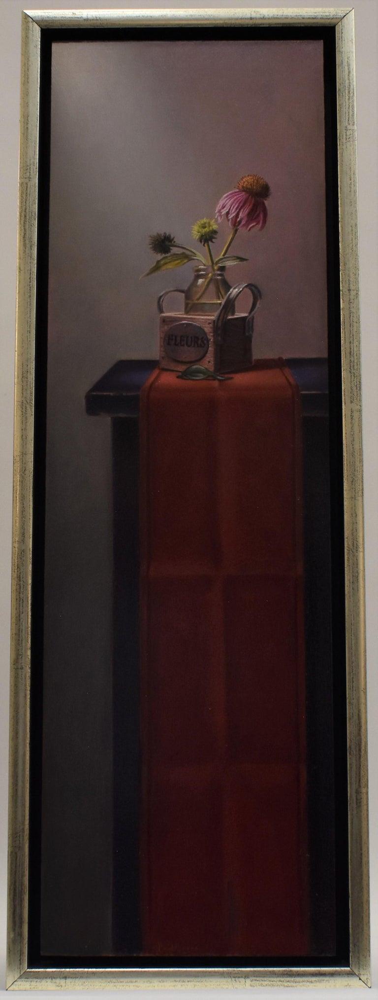 Euchina force (pendant) - Peter van den Borne - Realist Painting by Peter van den Borne