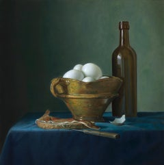 Bread with ham and eggs - Peter van den Borne