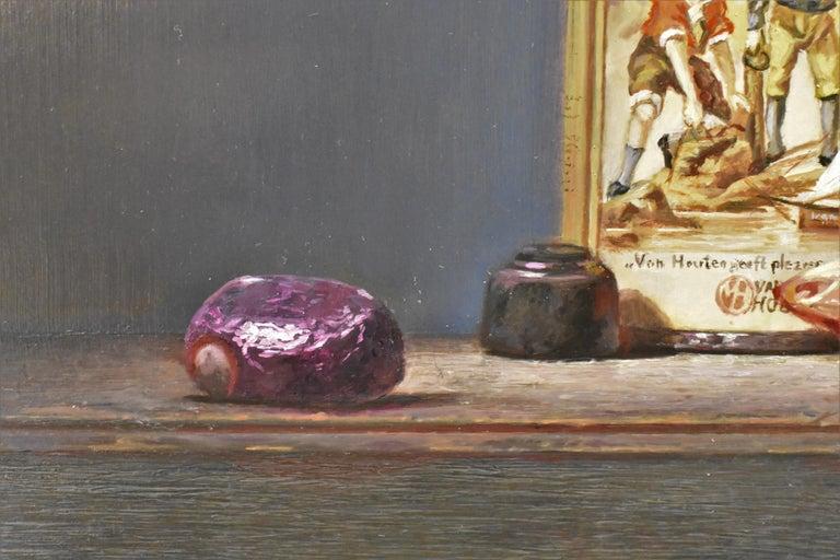 Van Houten tin with chocolates - Peter van den Borne For Sale 1
