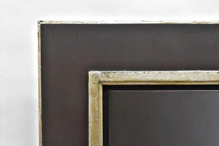 Van Houten tin with chocolates - Peter van den Borne - Black Still-Life Painting by Peter van den Borne