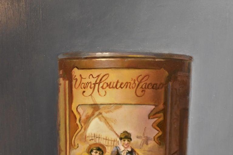 Van Houten tin with chocolates - Peter van den Borne For Sale 3
