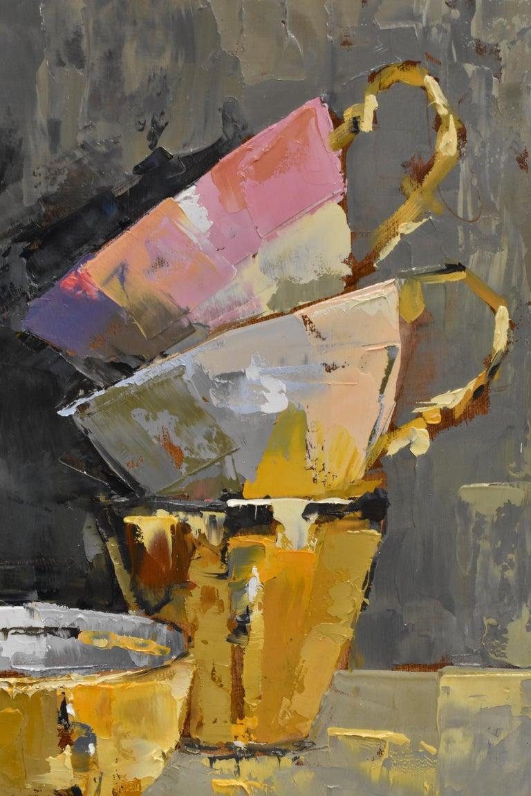 Pink rules - Ans Debije Dutch Realist Impressionist  2