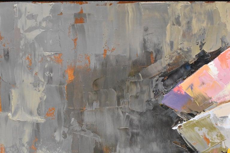 Pink rules - Ans Debije Dutch Realist Impressionist  1