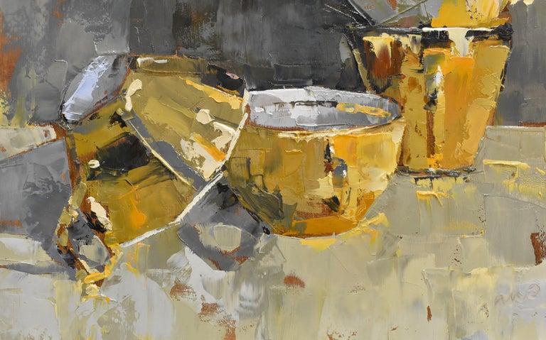 Pink rules - Ans Debije Dutch Realist Impressionist  5