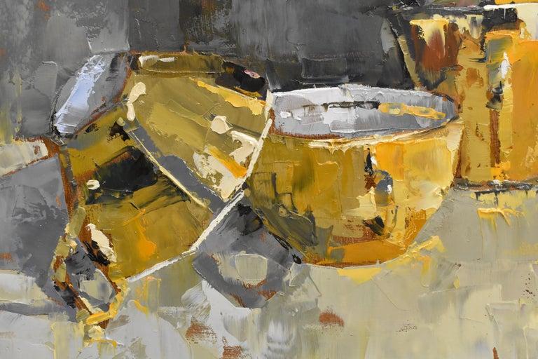 Pink rules - Ans Debije Dutch Realist Impressionist  3