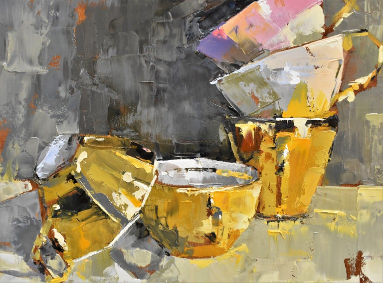 Pink rules - Ans Debije Dutch Realist Impressionist  4