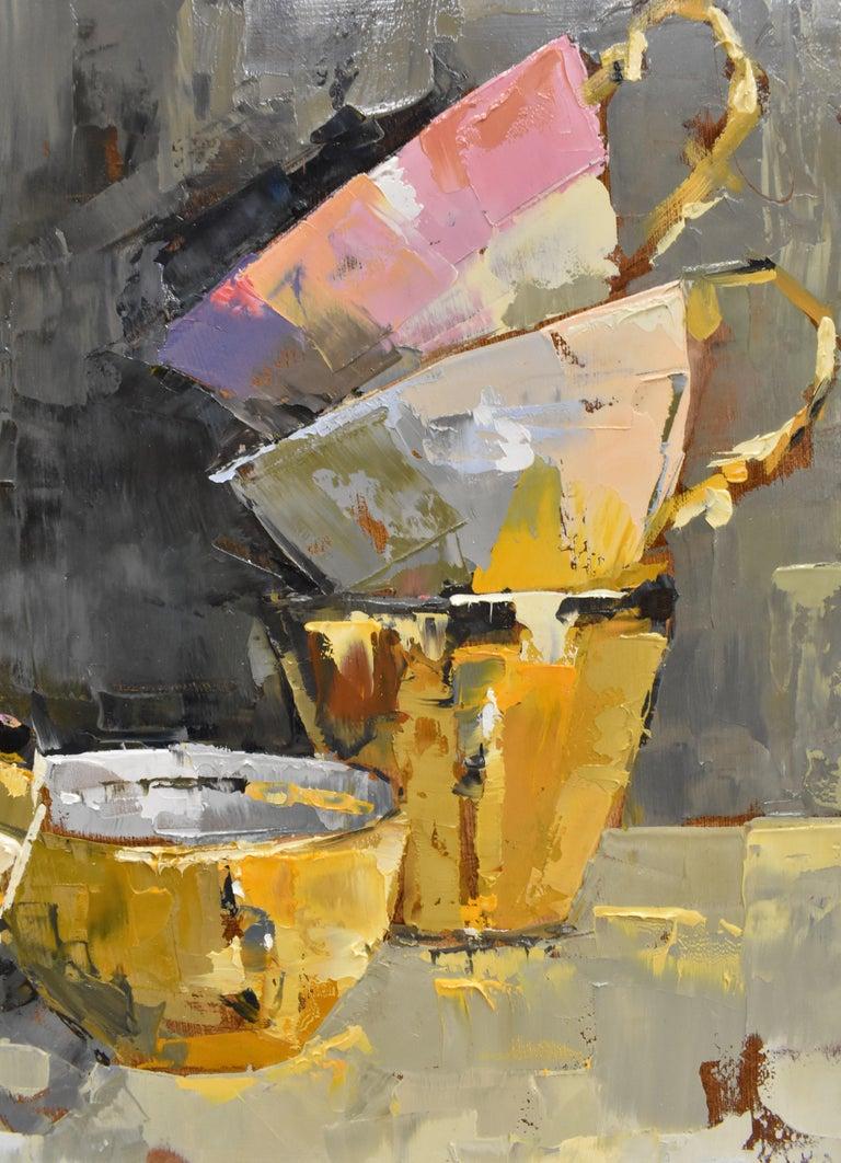 Pink rules - Ans Debije Dutch Realist Impressionist  8