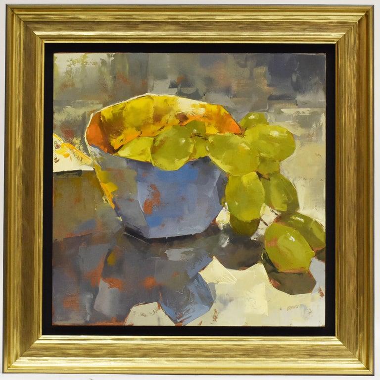 Ans Debije - Grape escape - Impressionism - Dutch - Painting by Ans Debije