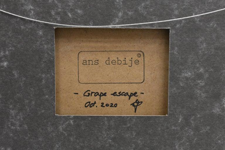Ans Debije - Grape escape - Impressionism - Dutch For Sale 5