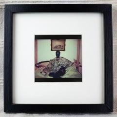 Boudoir Dolls, Photography, Polaroid, Figurative Art, Vintage Frame, Signed