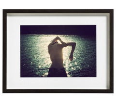 Genevieve, Photography, Color, Figurative, Nude, Signed, Framed