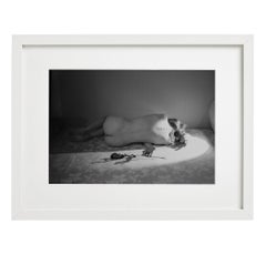Le Present, Photography, Black and White, Figurative, Nude, Signed, Framed