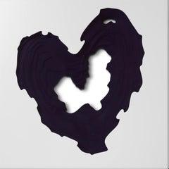 Contour Phoenix (Deep Purple), contemporary, heart, Czech, British, Bespoke