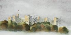 Windsor Castle - Signed Lithograph, Royal Art,Royal Homes,Windsor Castle,British