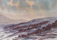 Glengairn, Aberdeenshire - Signed Lithograph, Royal Art, Scotland, British