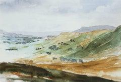 Wensleydale - Signed Lithograph, Royal Art, Yorkshire, British Landscape, Dales