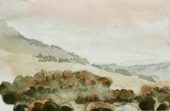 Wensleydale from Moorcock  - Signed Lithograph, Royal Art, Yorkshire, Landscape