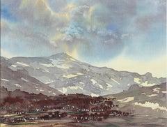 Ben Avon - Signed Lithograph, Royal Art, Scotland, British, Braemar, Mountains