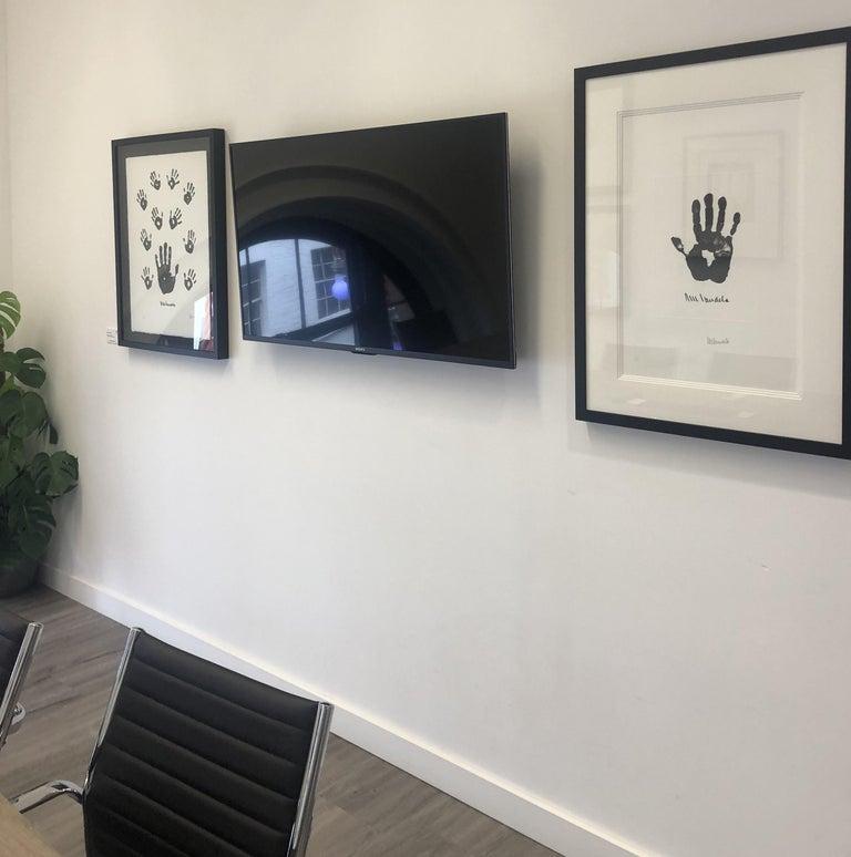 Impressions of Africa - Mandela, Former South African President, Signed Artwork - Contemporary Print by Nelson Mandela