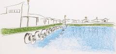 The Harbour - Mandela, Former South African President, Signed Art, Robben Island