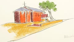 The Church - Mandela, Former South African President, Signed Art, Robben Island