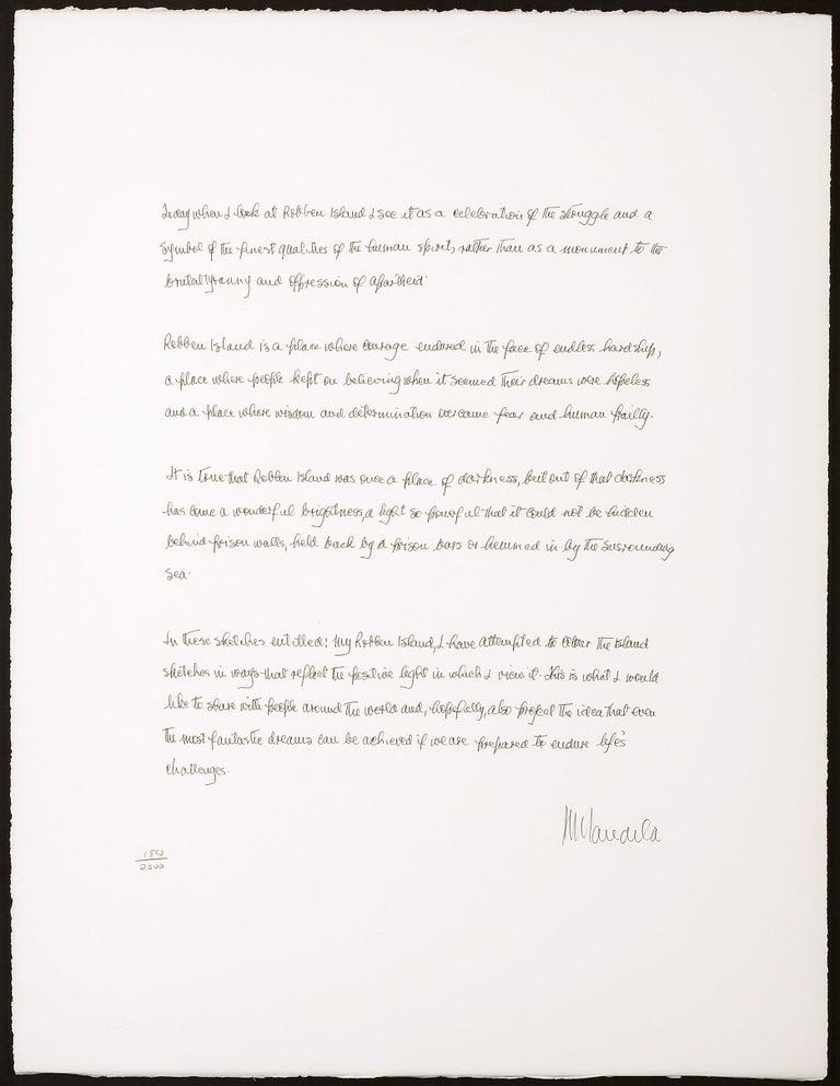 Artist Motivation - Mandela, Former South African President, Inspirational Words - Gray Print by Nelson Mandela