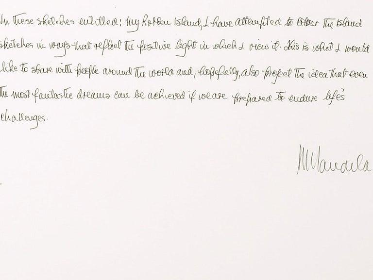 Artist Motivation - Mandela, Former South African President, Inspirational Words - Contemporary Print by Nelson Mandela