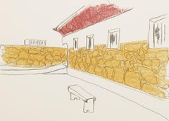 The Courtyard - Mandela, Former South African President, Signed, Robben Island