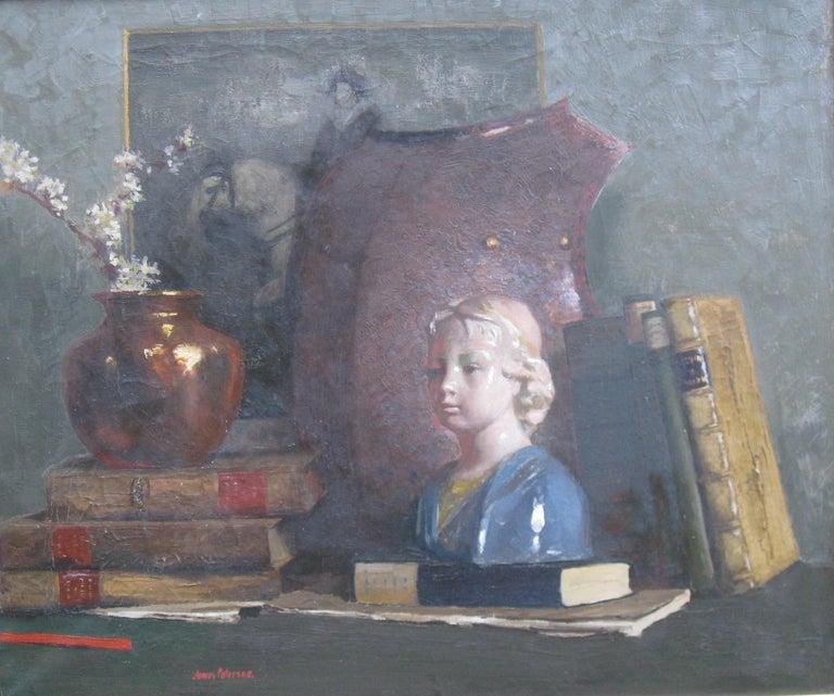 James Paterson Still-Life Painting - 'Still Life' oil on canvas circa 1910